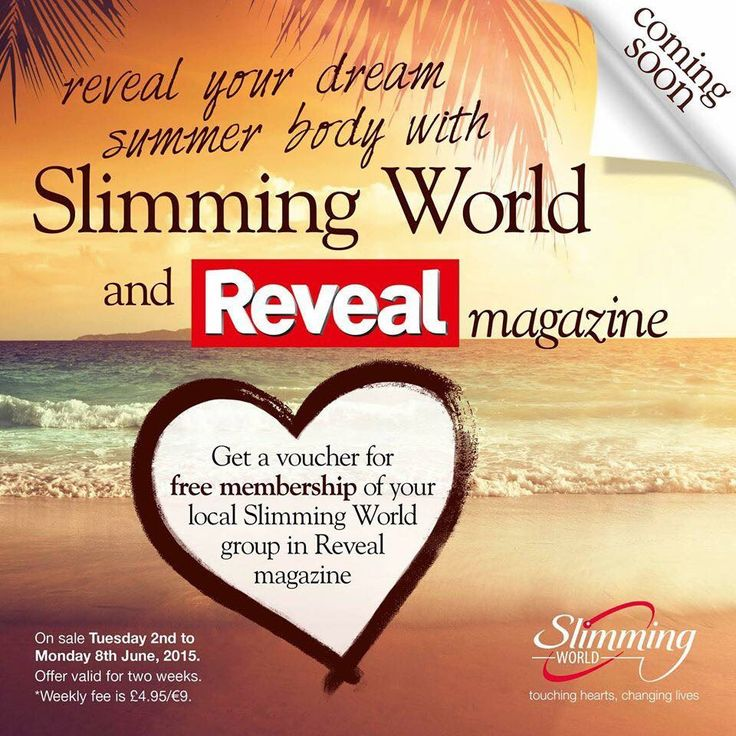 The LATEST offer to join Slimming World At Da Vinci's. FREE Membership so you only pay the weekly fee of £4.95. Too good to miss and you're slim for summer.