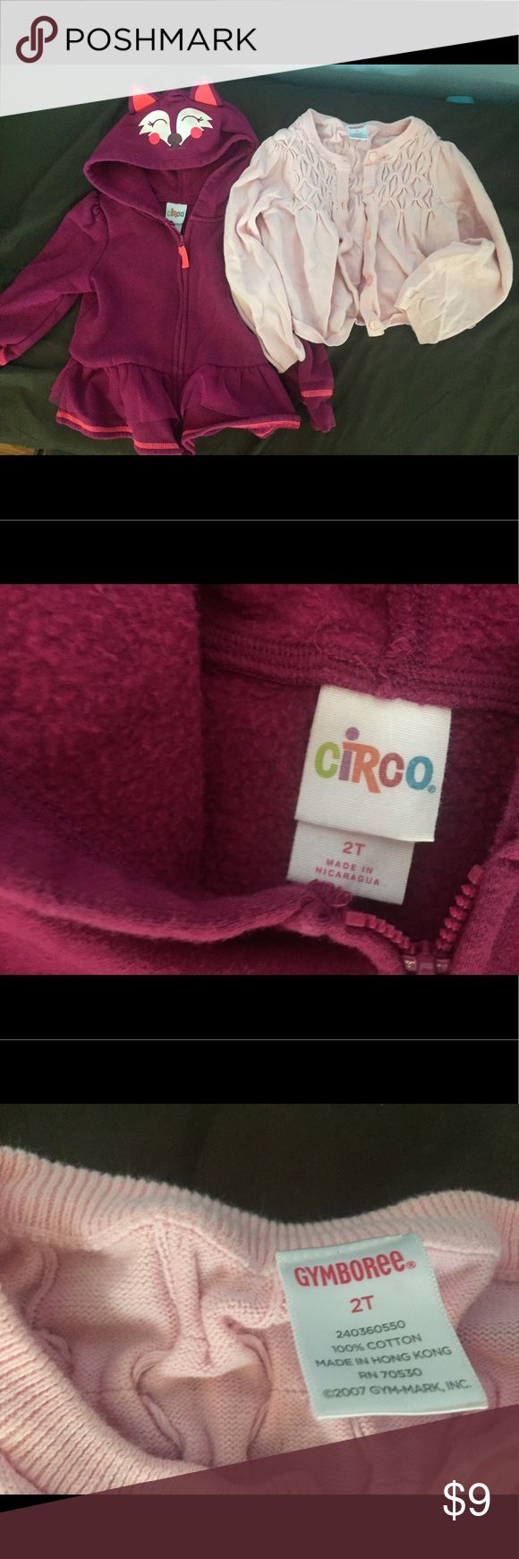 Gymboree cardigan and circo fox jacket Great condition Gymboree Jackets & Coats