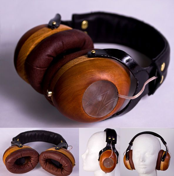 DIY wooden over ear headphones. I have so many projects on my plate, but I definately want to make a pair of these. There are several improvements/embelishments that I'd make to the electronics.