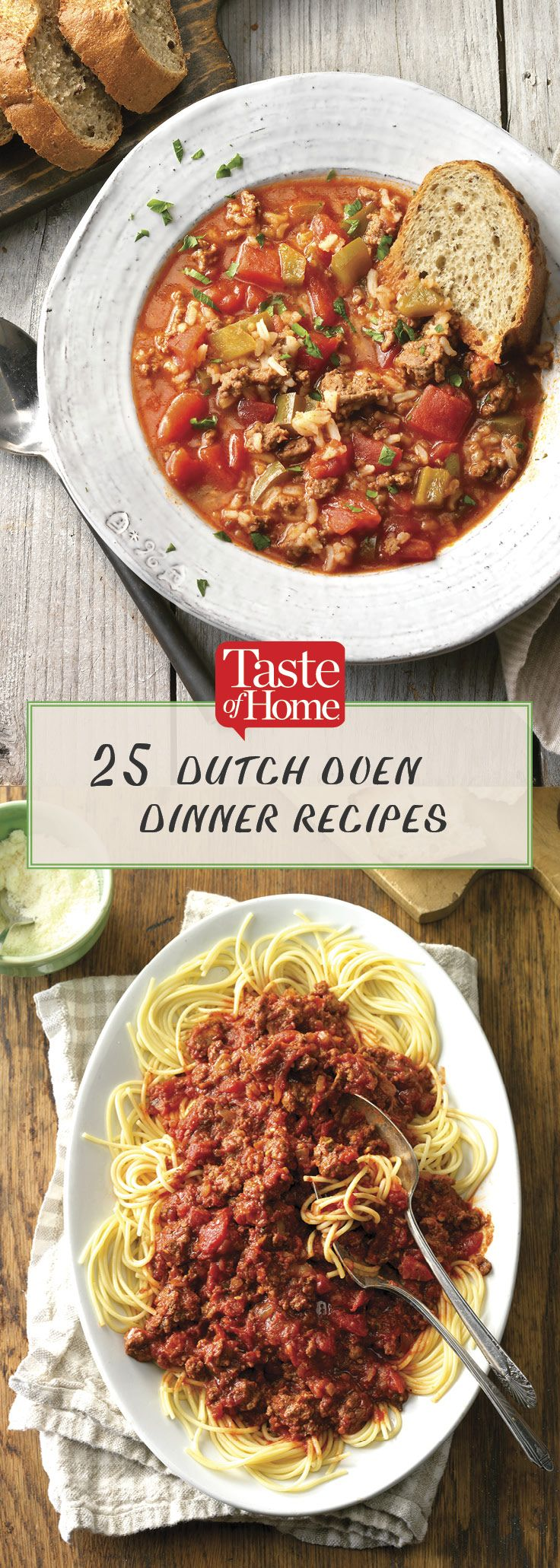 25 Dutch Oven Dinner Recipes