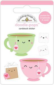 Doodlebug > Cream & Sugar > Tea For Two Doodlepops - Doodlebug - PRE ORDER: A Cherry On Top