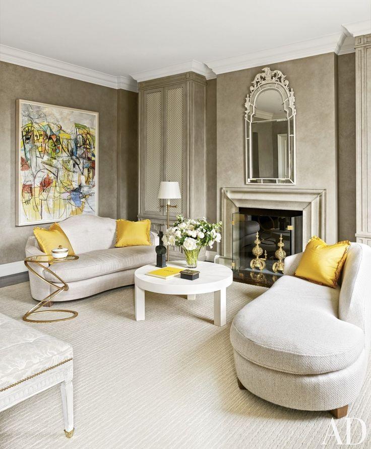 Modern Bedroom by Stephen Sills Associates and John B. Murray Architect in New York, New York | Modern Sofas. Living Room Inspiration. Bedroom Ideas. Bedroom sofa. #modernsofas #bedroomsofa