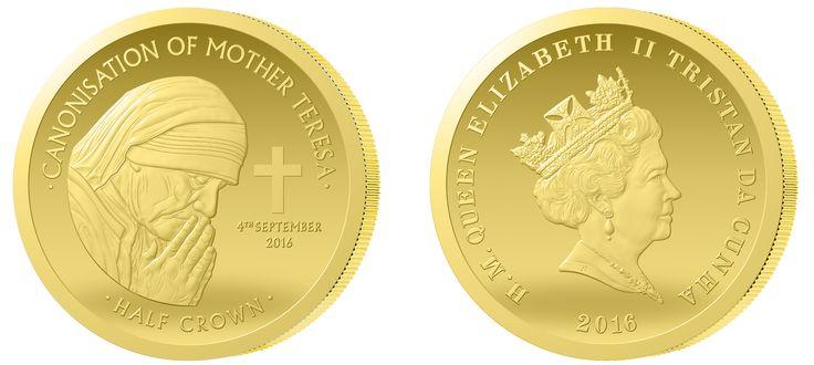 Matka Teresa w czystym złocie