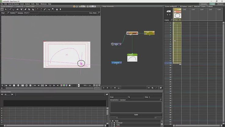 Opentoonz Centers Of Rotations And Paths on Vimeo