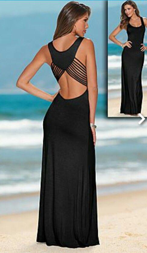 e8d919eab Compra al mejor precio barato online Vestido largo sexy Zoe Elegante y sexy  vestido con hombros descubierto y manga decoración caída.