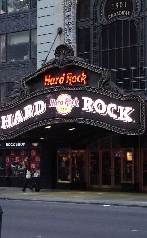 Hard Rock Cafe   Travel   Vacation Ideas   Road Trip   Places to Visit   New York   NY   Cafe   Bar   Music Venue   Restaurant   Local Dining