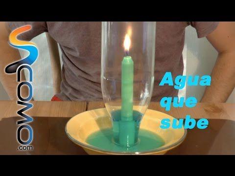 Agua que sube por botella (Experimento) - YouTube