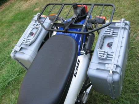 17 best images about dr650 flat tracker bali and dr650 saddlebag setups advrider
