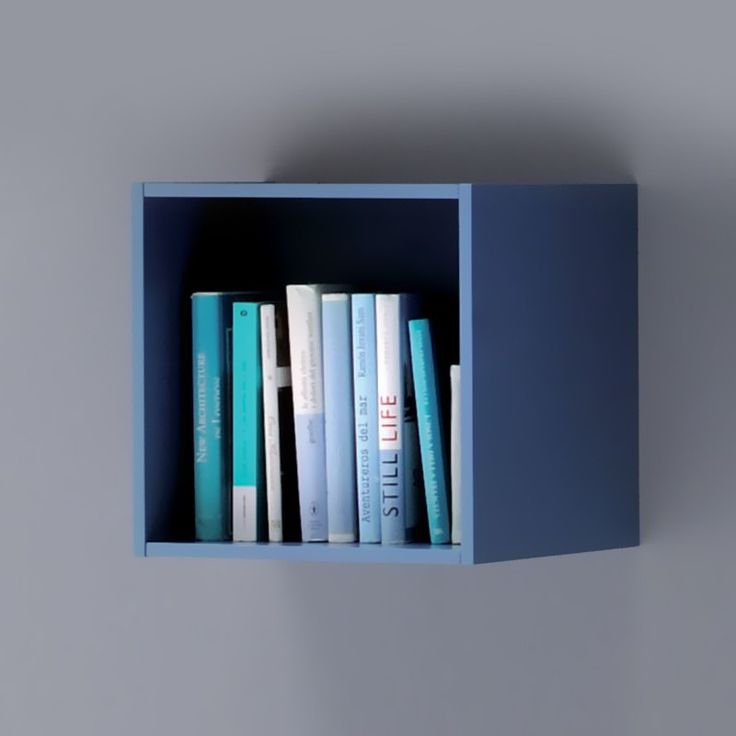 All.Day Squared Box - blue