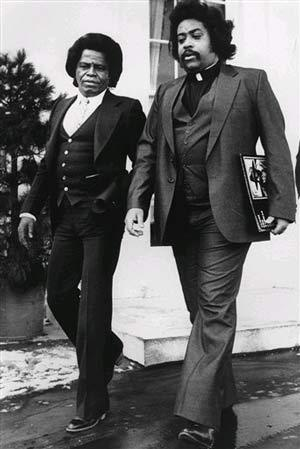 James Brown & Al Sharpton, 1982