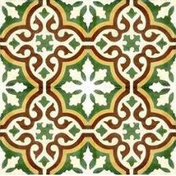 Moroccan floor tile - for the stair rise up to the front door perhaps