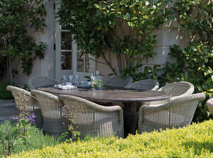 Pasaro garden chairs from neptune.com. Love all things Neptune.