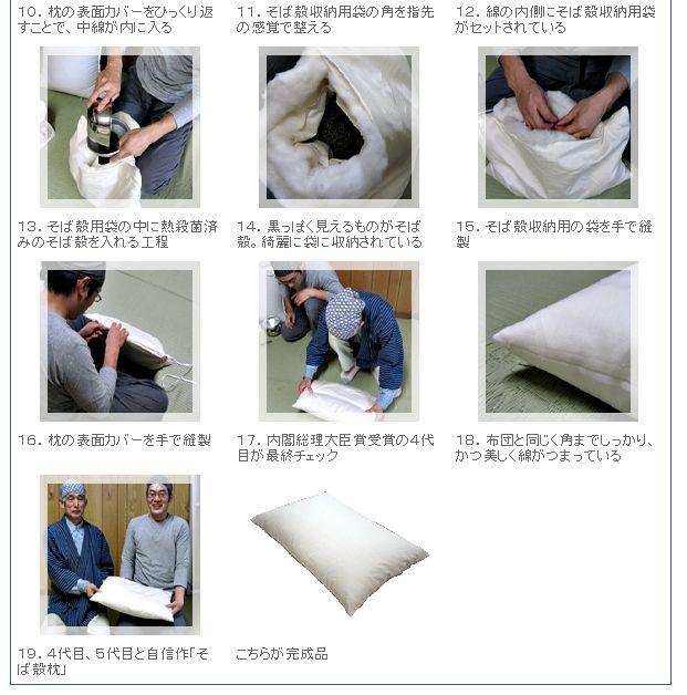 【楽天市場】丹羽ふとん店そば殻綿枕 低/中/高(受注生産):THE COVER NIPPON
