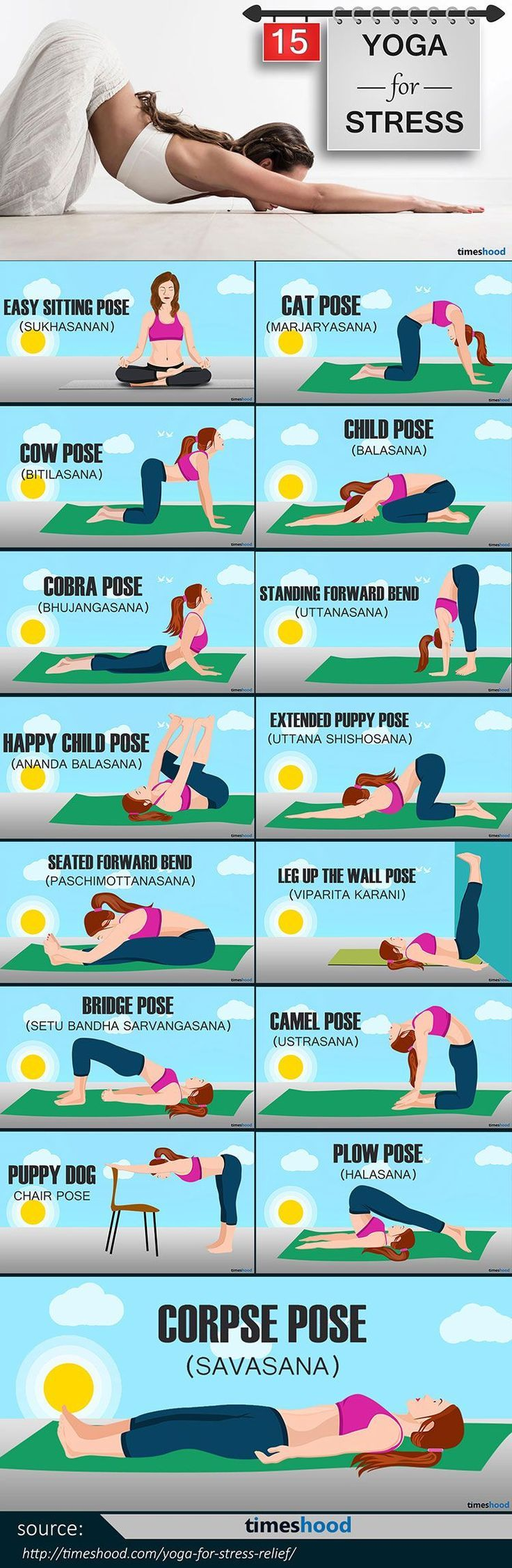 Yoga-for-Stress-Relief-info-1.jpg 750×2,295 pixels Yoga for health, yoga for be… – Nataly Galvis Contreras