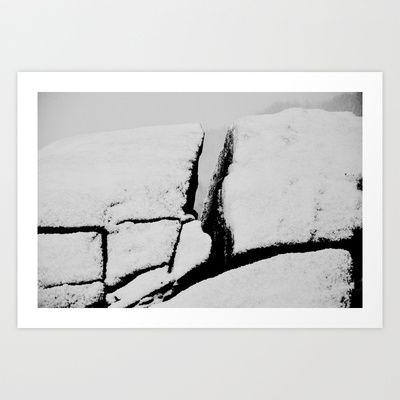Stones Art Print by Lone  - $18.00