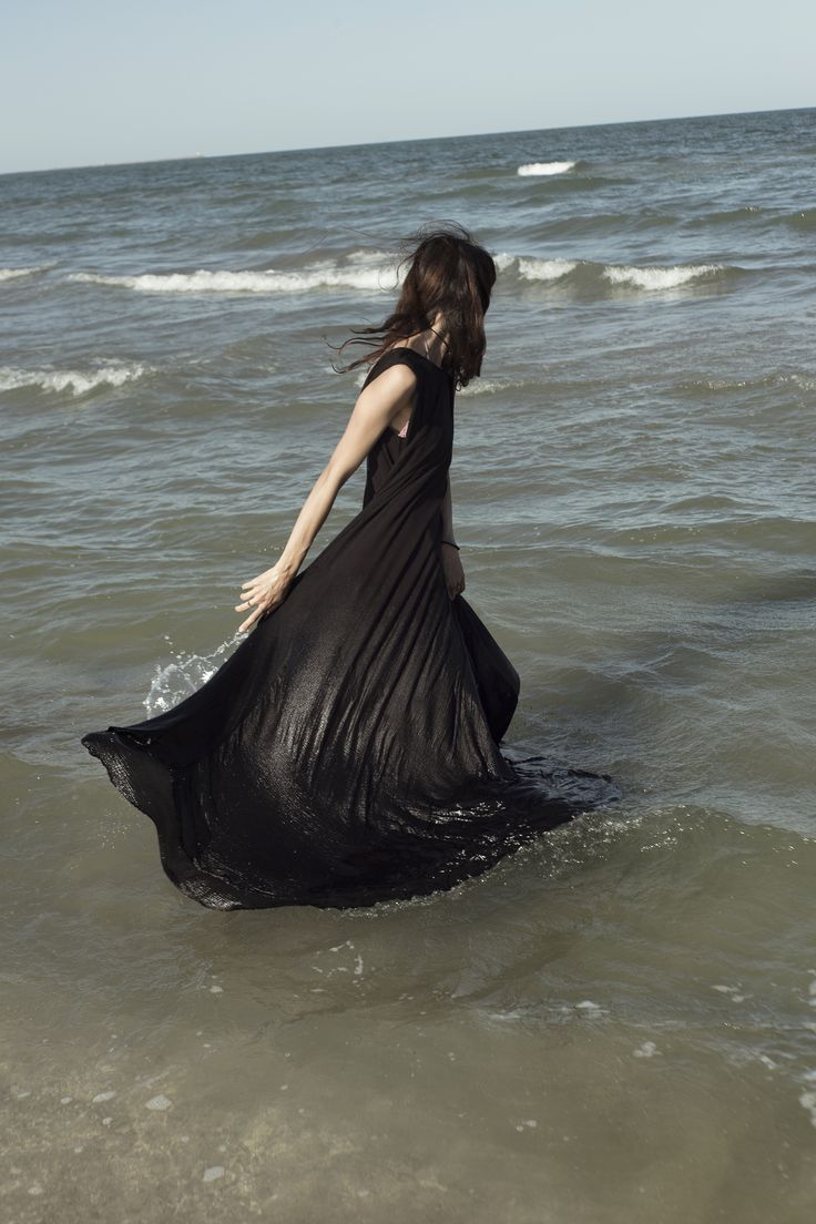 Floating waves!  #fashion #dress #cotton #sustainable #ethical #summer-collection #fashion-brand