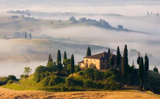 The Mugello area, Tuscany.