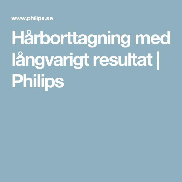 Hårborttagning med långvarigt resultat | Philips