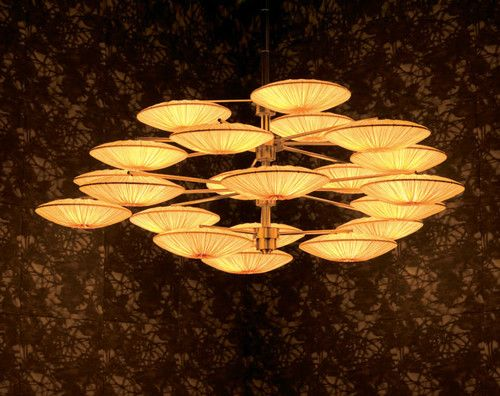 Sunsa Chandelier by Aqua Creations - asian - chandeliers - August Avery