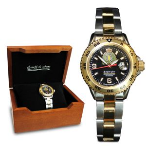 $224.99 Stay on time with the RCMP Two-Tone Ladies Watch
