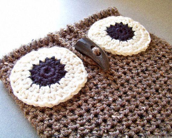Crochet PATTERN Crochet Owl iPad Case Pattern Owl by natalya1905, $5.00