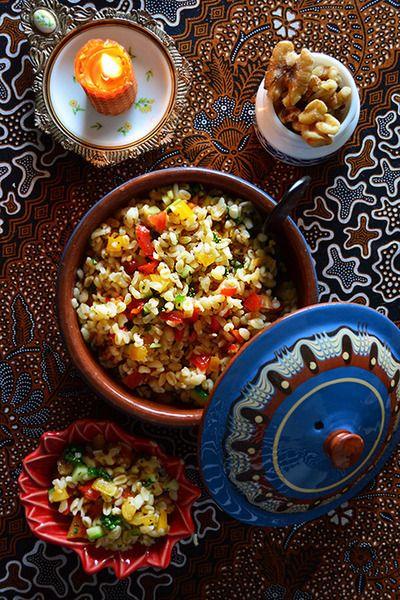噂のアルガンオイルで美肌簡単モロッコ料理 ファティマさんちのブルグルサラダ