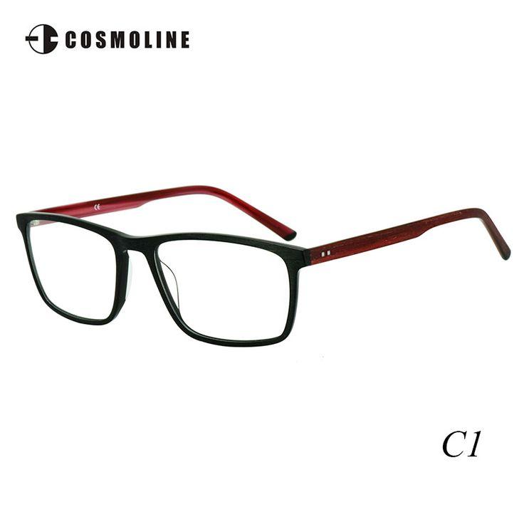 Cosmoline  Super Thin Acetate Glass Frame Eyeglasses Frame Optical Eyewear Frame with Demo Lens ramki okularow 468