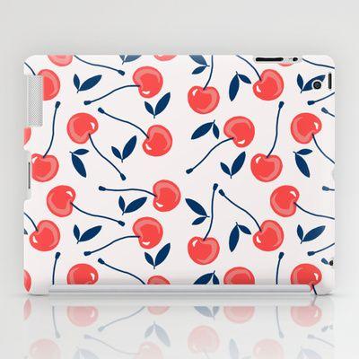Cherry  iPad Case by Babiole Design - $60.00