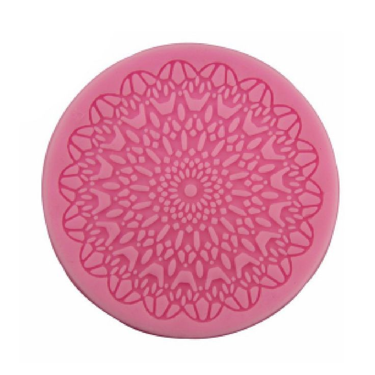 Silicone Round Lace Craft Fondant Mould