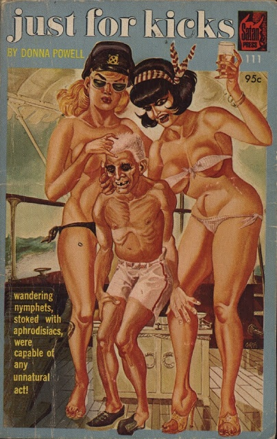 """Just For Kicks:  -  """"Wandering nymphets, stoked with aphrodisiacs, were capable of any unnatural act."""""""