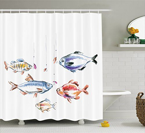 17 best ideas about fishing decorations on pinterest for Salmon bathroom ideas