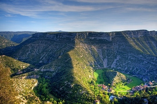 Le Cirque de Navacelles #France #Travel www.plaisirsdefsrance.co.za
