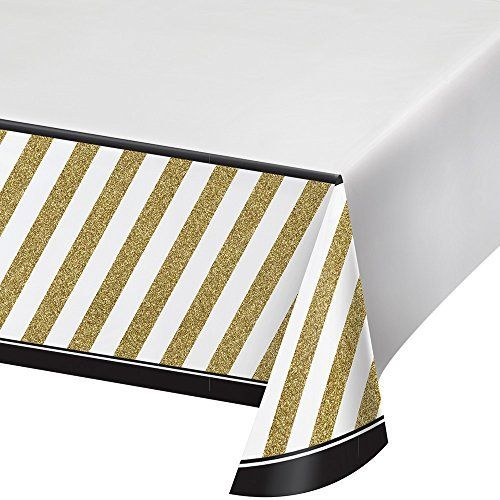 Creative Converting Border Print Plastic Table Cover Best Offer