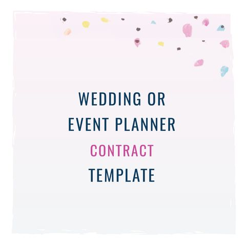 Are you legally protecting your wedding or event planning business?Wedding or Event Planner Contract Template from The Contract Shop #thecontractshop #contractsforcreatives #legaltipsforcreatives #contracts #creativeentrepreneurs #smallbusinesses #contractsforcreatives #legaltips #trademarks #copyrights #clientexperience #weddingphotographers #weddingcalligraphers #eventplanners