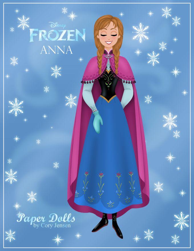 Disney Frozen Printable Paper Dolls | Skgaleana.com.  Party favors or party activity.