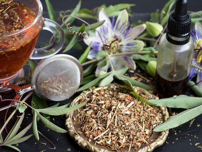 8 Impressive Benefits Of Passionflower Tea Organic Facts Recipe In 2020 Passion Flower Tea Passion Flower Benefits Herbs