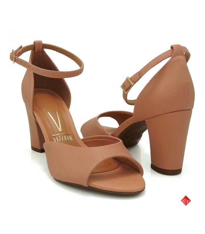 Sandália Vizzano Pelica em 2019   Sapatos bege, Sapatos