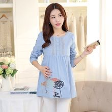 Like and Share if you want this  Sweet Maternity Blouses Pregnancy Clothes For Pregnant Women Dress Long-sleeved Clothing Maternity Tops Pregnant Shirt     Tag a friend who would love this!     FREE Shipping Worldwide     Get it here ---> http://oneclickmarket.co.uk/products/sweet-maternity-blouses-pregnancy-clothes-for-pregnant-women-dress-long-sleeved-clothing-maternity-tops-pregnant-shirt/