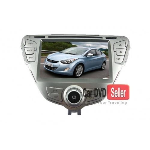 In Dash Car DVD Player for Hyundai Elantra 2010 - 2012 with GPS Bluetooth TV Radio