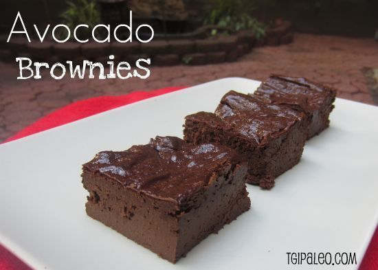 Paleo Avocado Brownies Recipe Mmm #paleo #avocado ideas and recipes!!