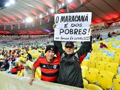 """Reclamação contra preços dos ingressos no """"novo Maracanã"""" são cada vez mais frequentes Foto: Daniel Ramalho / Terra"""