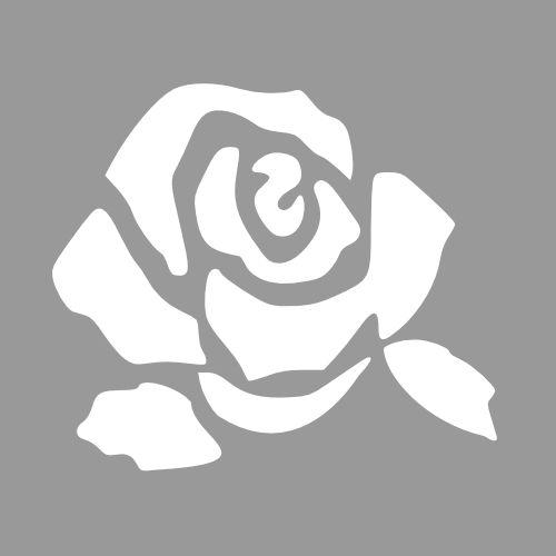Maak een keuze uit onderstaande rozen patronen en print het patroon en kopieer het in de juiste grootte. Knip of snij de rozen patronen uit...