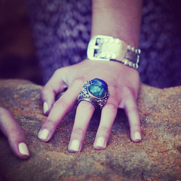 Helga rings Davina cuff