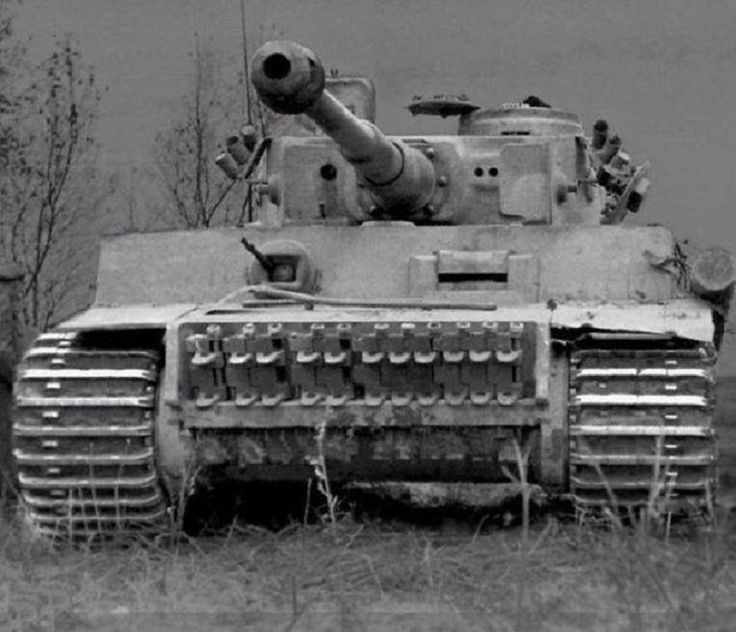 The German Tiger tank, a force to be reckoned with on the battlefield.  On average, it was 3 Allied yanks destroyed for every Tiger killed.