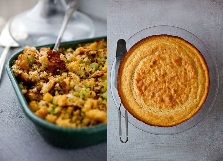 I find most cornbread to be very sweet This one is grainy and savory, and the stuffing I make with it is my favorite This is easily doubled for a larger quantity of stuffing