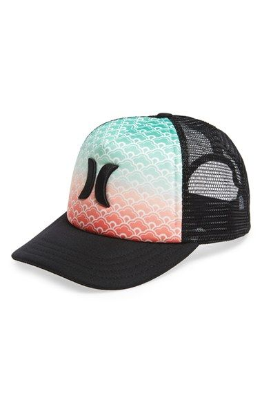 hurley americana trucker hat available at nordstrom