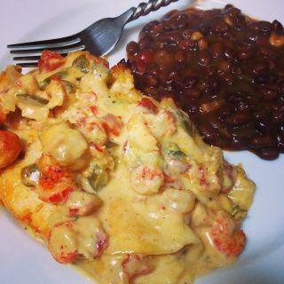 Crawfish Enchiladas - Recipes - Mississippi Outdoor Forums