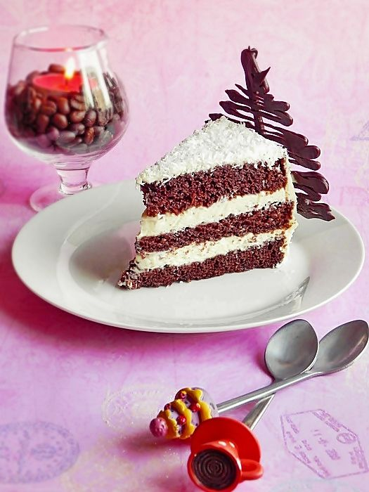 Chocolate Cake with ricotta cream