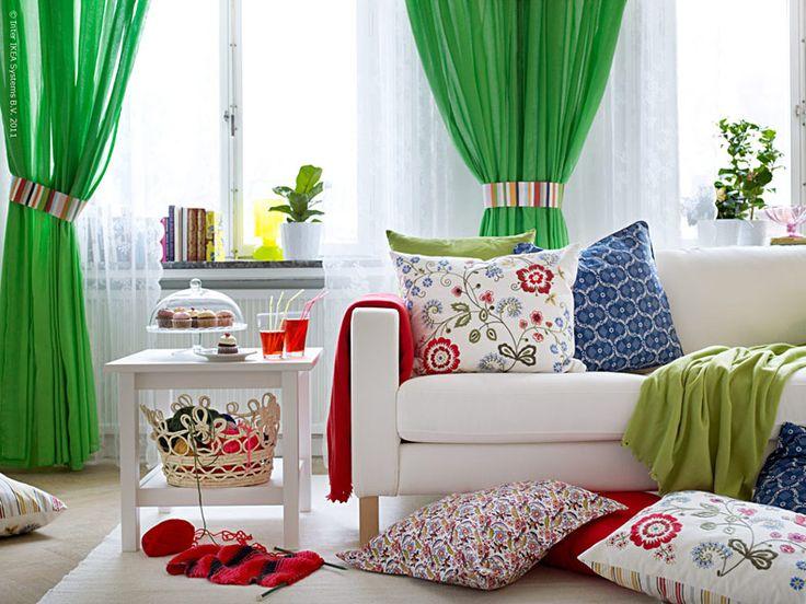 Lantlig stil med textil | IKEA Livet Hemma – inspirerande inredning för hemmet