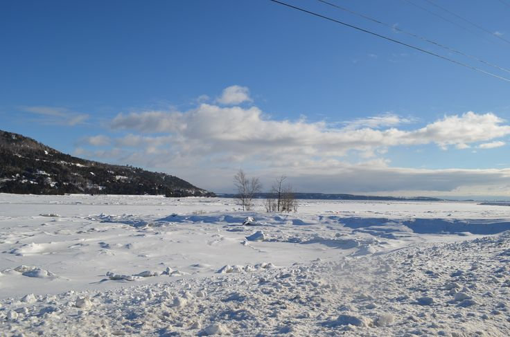 Rive en hiver - Baie-Saint-Paul